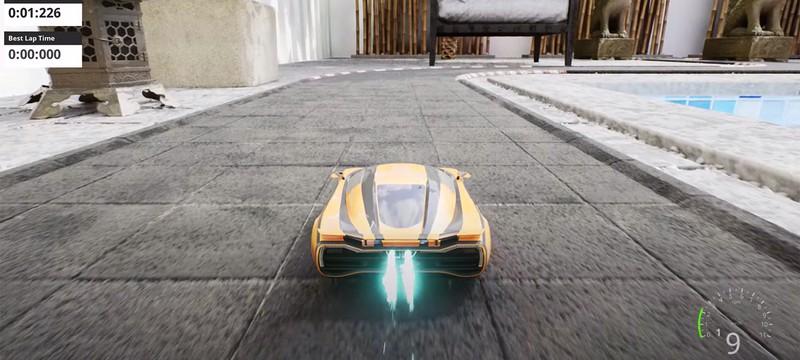 Гоночный симулятор Nano Racing использует движок Unreal Engine 5 — смотрите геймплей