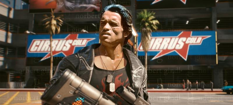 Игрок Cyberpunk 2077 показал Арнольда Шварценеггера в Найт-Сити