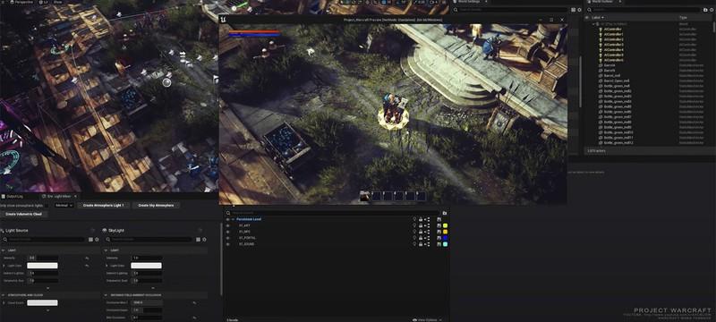 Warcraft 3 перенесли на Unreal Engine 5 — вот какой должна была быть Reforged