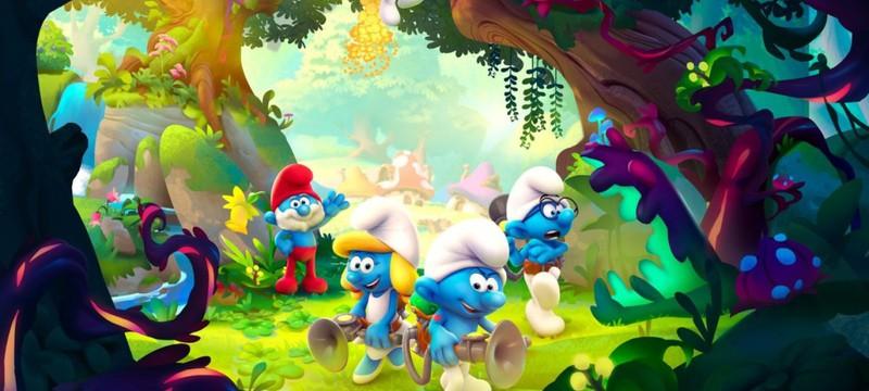 Яркий мир и главное оружие героев в трейлере платформера The Smurfs - Mission Vileaf