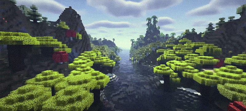 В бета-версии Minecraft 1.18 появились улучшенные подводные пещеры
