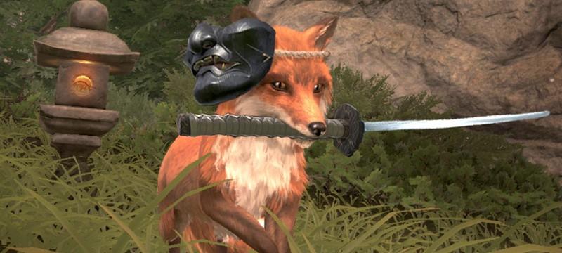 Игрокам Ghost of Tsushima дали возможность погладить лису с новыми анимациями