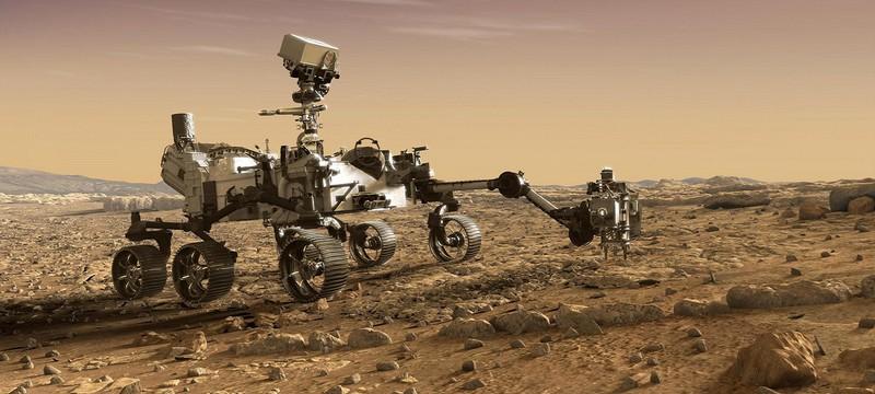 Ровер Perseverance добыл образцы марсианского грунта