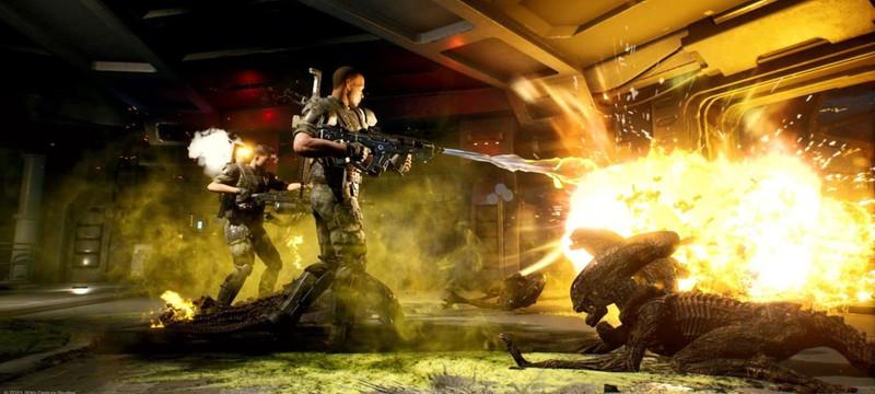 Ближний бой и щит в трейлере нового класса Aliens Fireteam Elite