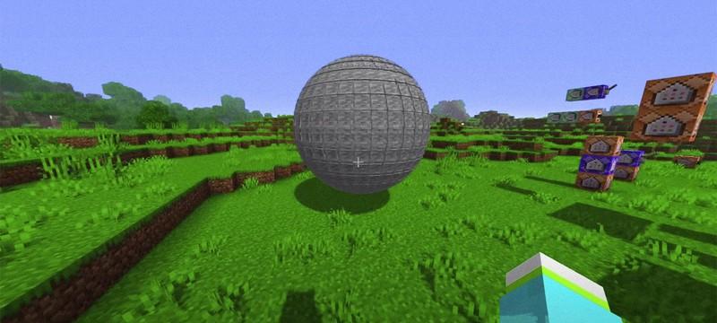 Игрок Minecraft создал идеальный круг без использования модов