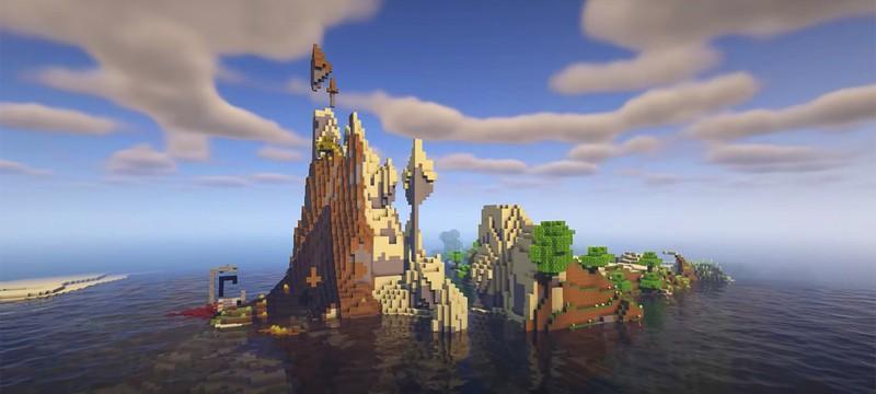 В тестовой версии Minecraft 1.18 появились запутанные пещеры