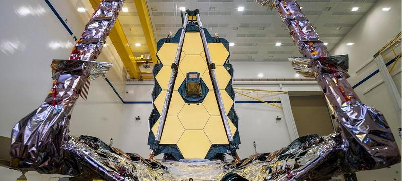 NASA запустит в космос телескоп имени Джеймса Уэбба в середине декабря