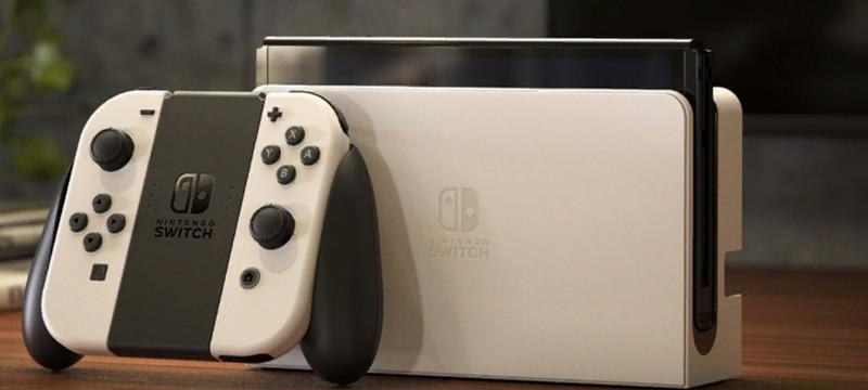 Nintendo Switch OLED выйдет в России на две недели позже