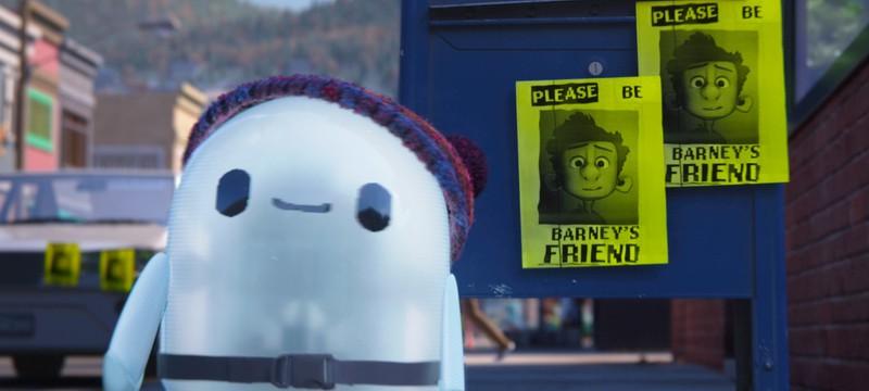 """Дружба с милым сломанным роботом в трейлере """"Неисправимый Рон"""""""
