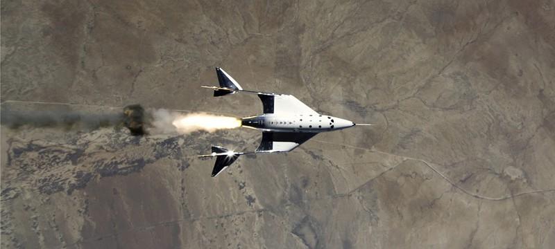 Первый коммерческий исследовательский полет Virgin Galactic задерживается до середины октября