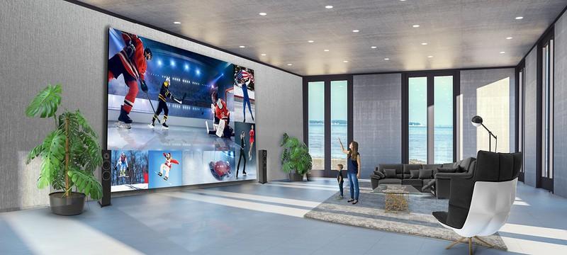 LG представила 325-дюймовый телевизор за 1.7 миллиона долларов