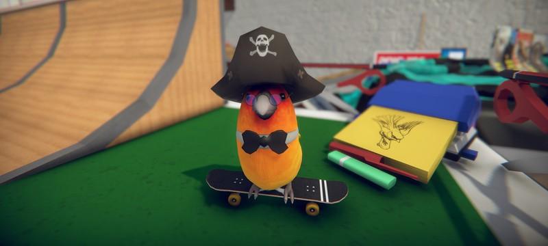 Милые птички катаются на скейтах в релизном трейлере SkateBird