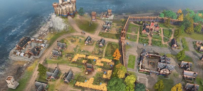Русь против Римской империи в мультиплеерном матче Age of Empires 4