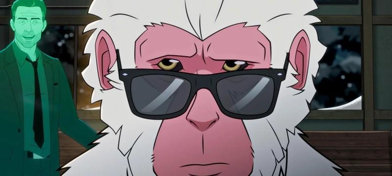 Первый тизер мультсериала Hit Monkey про обезьяну-киллера