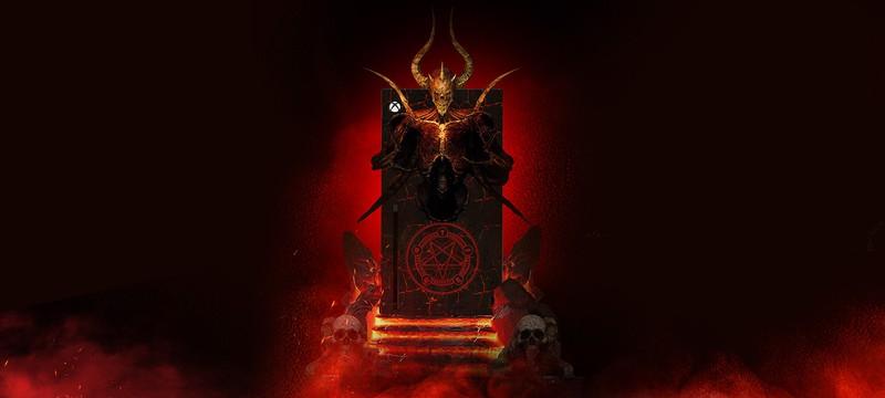 Эта кастомная Xbox Series X настолько заряжена энергией Ада, что сама вызывает демонов из Diablo 2 Resurrected