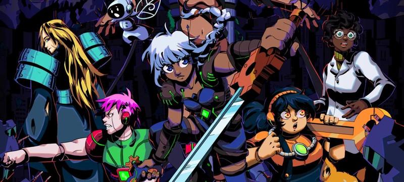 Сражения, головоломки и большой мир в геймплейном трейлере пиксельного экшена Unsighted