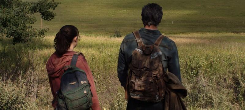 Первый кадр из сериала The Last of Us с Элли и Джоэлом