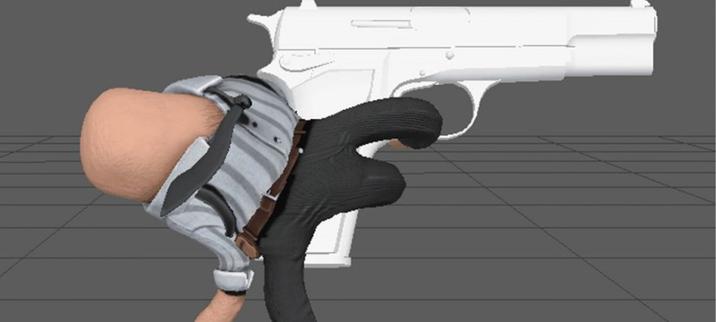 Рука с пистолетом — в разработке находится забавный экшен Handcop