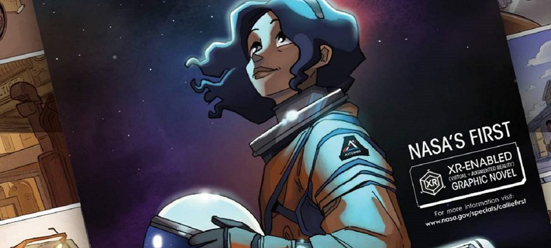 NASA выпустило визуальную новеллу с дополненной реальностью про выдуманную женщину-астронавта