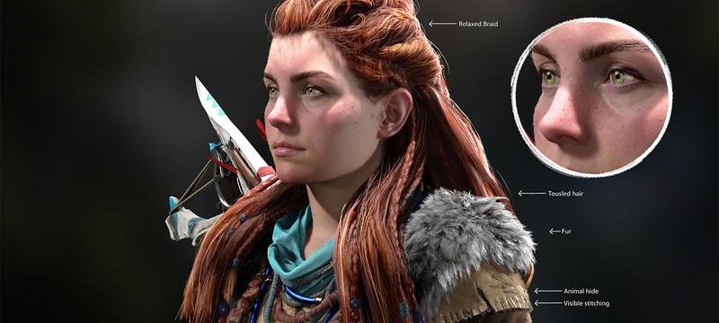 Разработчики Horizon Forbidden West рассказали о создании нового образа Элой