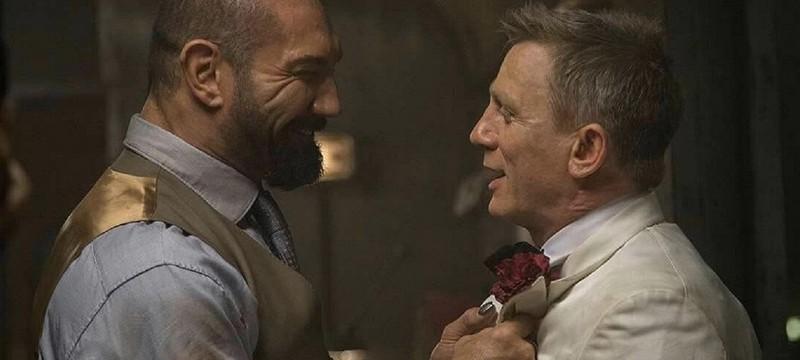 """Дэниел Крейг чуть не сломал нос Дэйву Батисте во время съемок """"007: Спектр"""""""