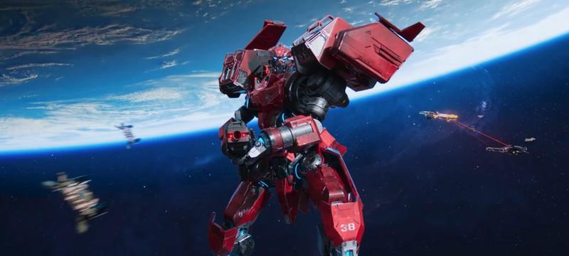Космические сражения мехов-трансформеров в геймплее и трейлере экшена Phantom Galaxies