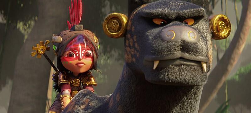 """Netflix показал полный трейлер мультфильма """"Майя и три воина"""""""