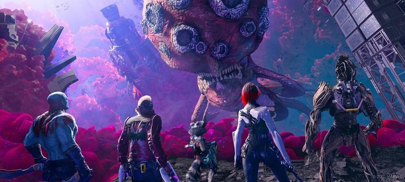 Трейлер с демонстрацией особенностей PC-версии Guardians of the Galaxy