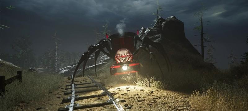 Choo-Choo Charles — сурвайвал-хоррор про поезд на паучьих ногах