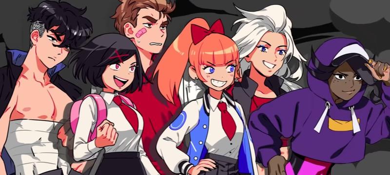 Пиксельные школьницы против десятков врагов в трейлере River City Girls 2