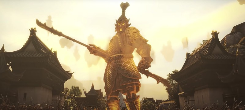 Терракотовые стражи в новом трейлере Total War: Warhammer III