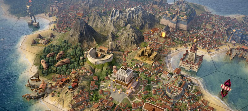 4Х-стратегия Old World от создателя Civilization 4 выйдет в Steam весной следующего года