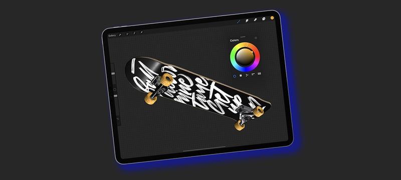 В приложении для рисования Procreate появится поддержка текстурирования 3D-моделей