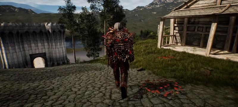 Новый геймплей The Elder Scrolls IV: Oblivion на Unreal Engine 5