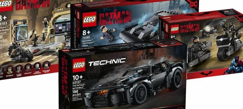 """Представлены LEGO-наборы по """"Бэтмену"""" с Робертом Паттинсоном, включая Бэтпещеру"""