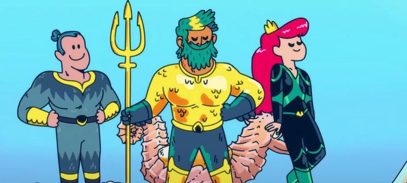 Вступление мультсериала Aquaman: King of Atlantis от HBO Max