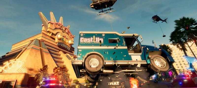 Перестрелки и погони в новом геймплее Saints Row
