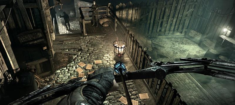 Не шумите во время игры в Thief, иначе стража заметит вас