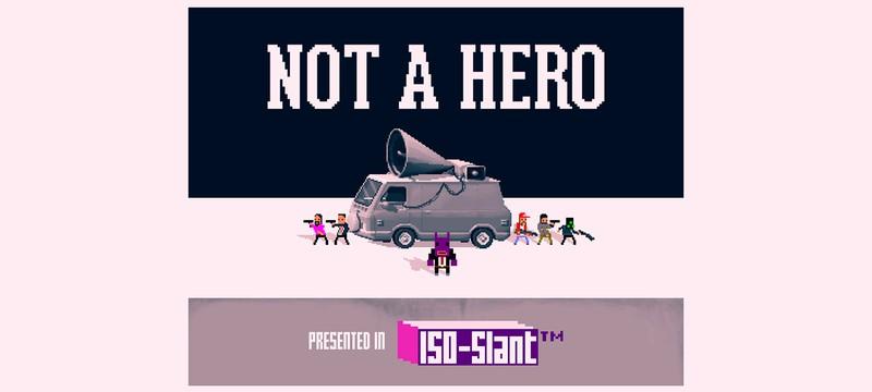 Новая игра от разработчиков OlliOlli – 2.25D шутер Not A Hero