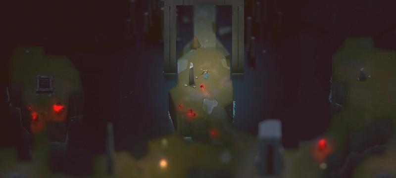 8 минут геймплея Below – мрачного, одинокого но красивого данжен-кроулера