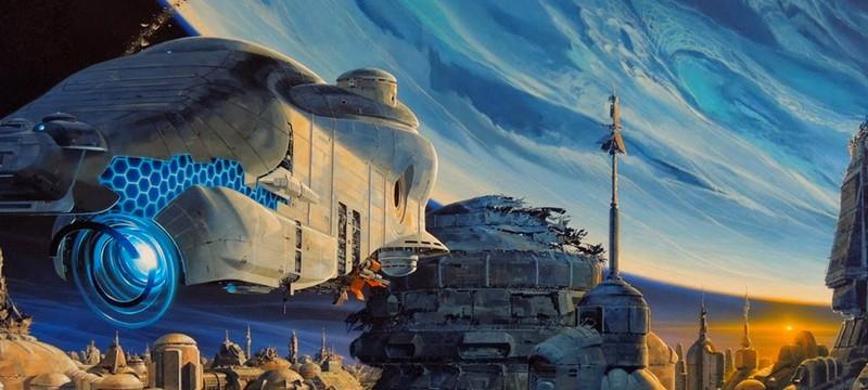 Классика Sci-fi от французского иллюстратора