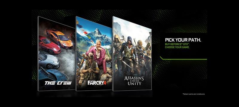 Последние игры Ubisoft с новыми GPU от Nvidia