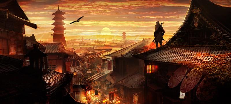 Как может выглядеть Assassin's Creed в Японии