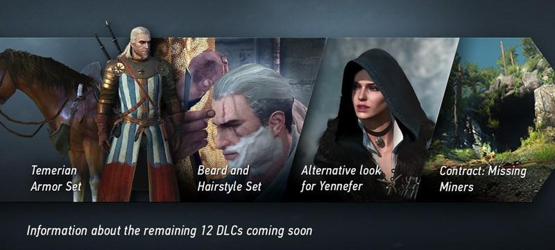 CD Projekt RED анонсировали 16 бесплатных DLC для The Witcher 3