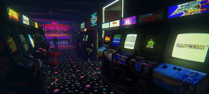 Аркадный зал 80-х годов воссоздан в виртуальной реальности