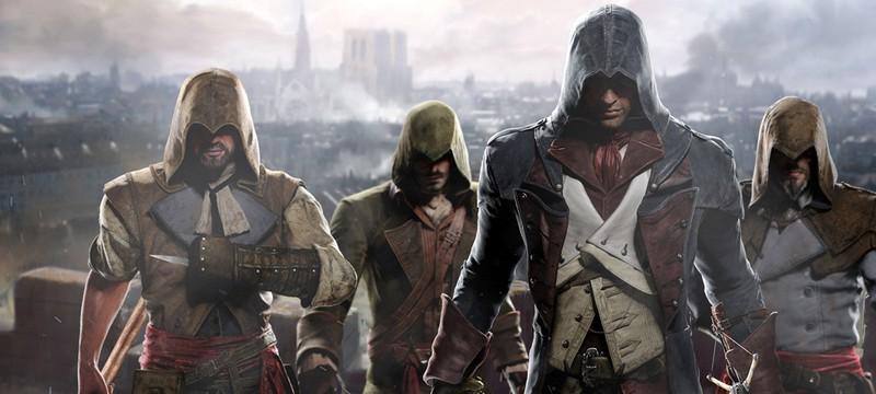 12 минут Assassin's Creed Unity на Xbox One