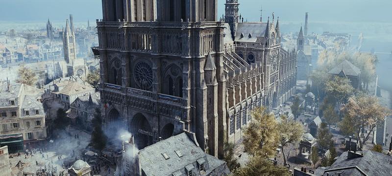 Авторские права и геймплей не позволили идеально воссоздать Нотр Дам в Assassin's Creed Unity