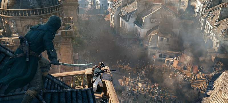 Assassin's Creed Unity использует всю мощность PS4 и Xbox One