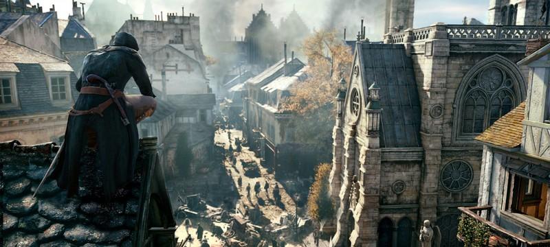 Конан О'Брайен играет в  Assassin's Creed: Unity