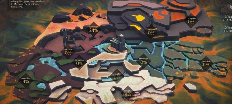 Massive Chalice от Double Fine в Раннем Доступе Steam